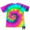 Be A Mimi Sunflower Tie Dye EZ03 1303 All Over T-shirt - Hyperfavor