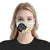 Beagle Silhouette I Love My Dog Floral EZ02 0206 Face Mask - Hyperfavor