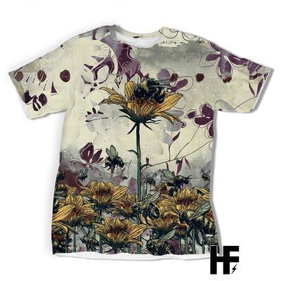 Bee Diffrence EZ06 1003 All Over T-Shirt - Hyperfavor