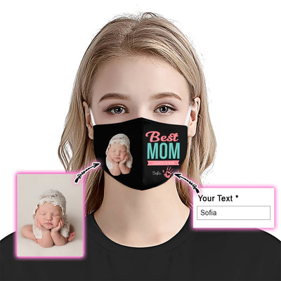Premium Best Mom Hand Down EZ09 1905 Custom Face Mask - Hyperfavor