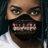 Black Girl God Says 03 EZ01 2006 Face Mask - Hyperfavor