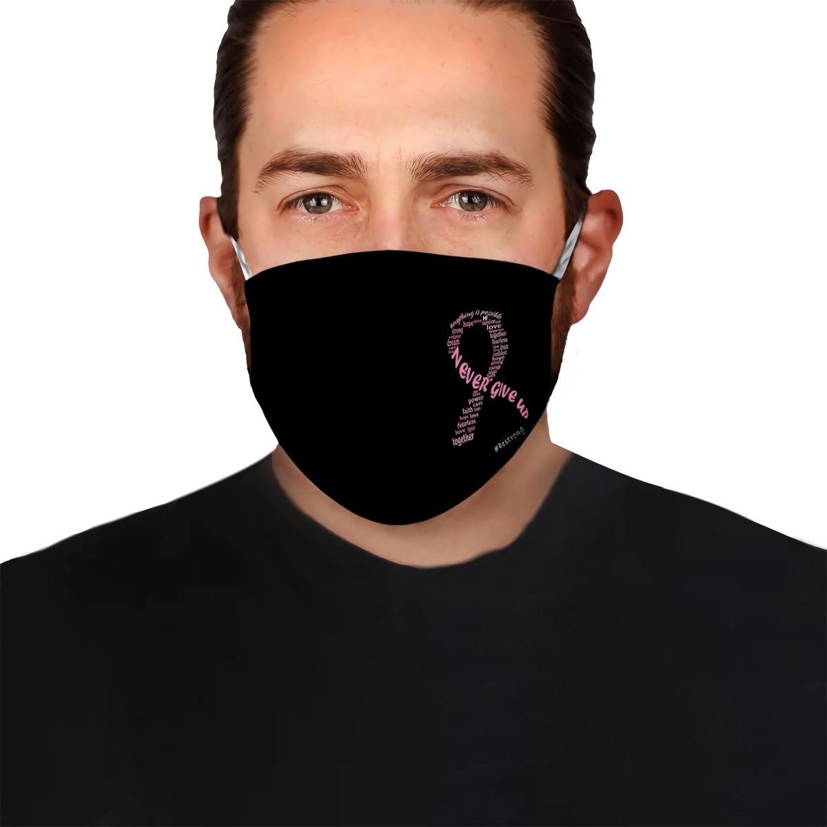 Breast Cancer EZ10 1404 Face Mask - Hyperfavor