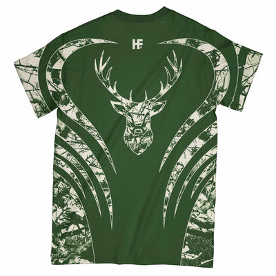 Bucks Lovers Camo EZ05 2603 All Over T-shirt - Hyperfavor