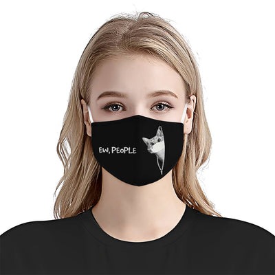 Cats Ew, people EZ16 0206 Face Mask - Hyperfavor