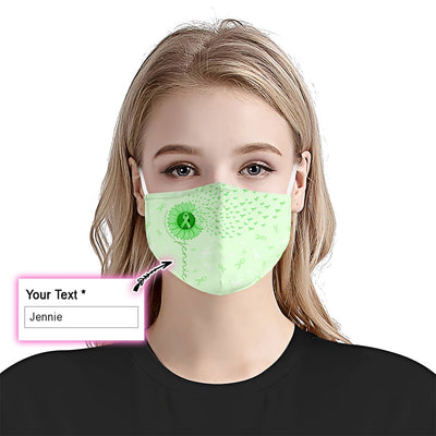 Celiac Disease Awareness Sunflower EZ10 2105 Custom Face Mask1 - Hyperfavor