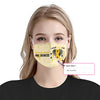 Childhood Cancer Awareness I Wear EZ10 2005 Custom Face Mask - Hyperfavor