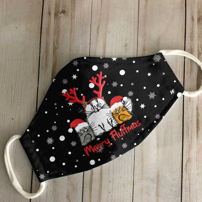 Christmas Merry Fluffmas EZ16 1010 Face Mask - Hyperfavor