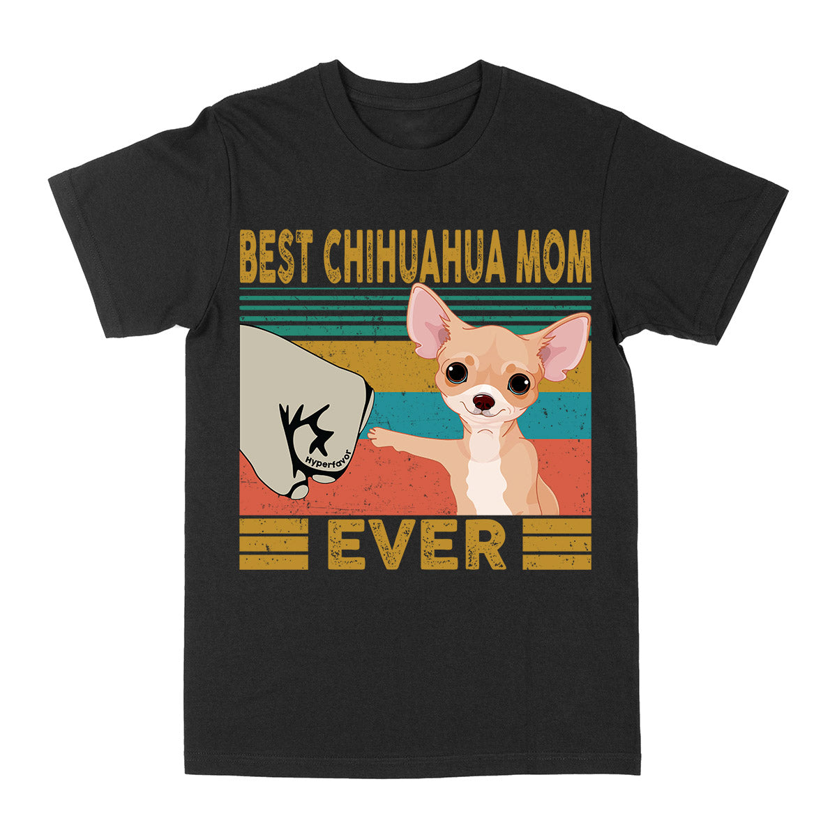 Best Chihuahua Mom Ever Vintage EZ03 2703 Classic T-shirt