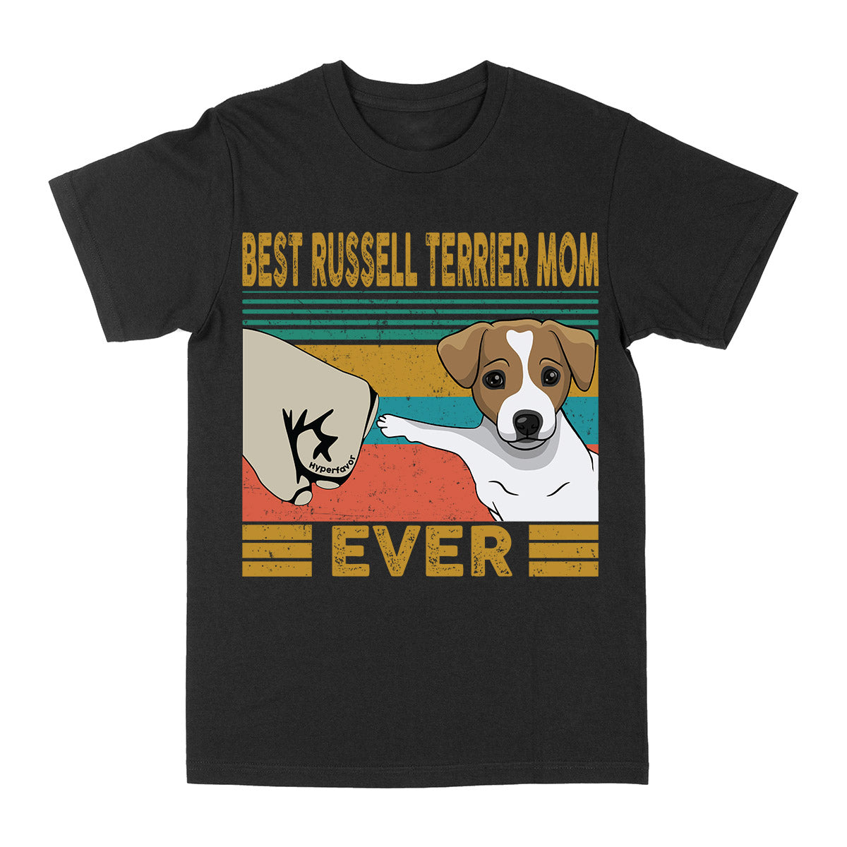Best Jack Russell Terrier Mom Ever Vintage EZ03 2703 Classic T-shirt