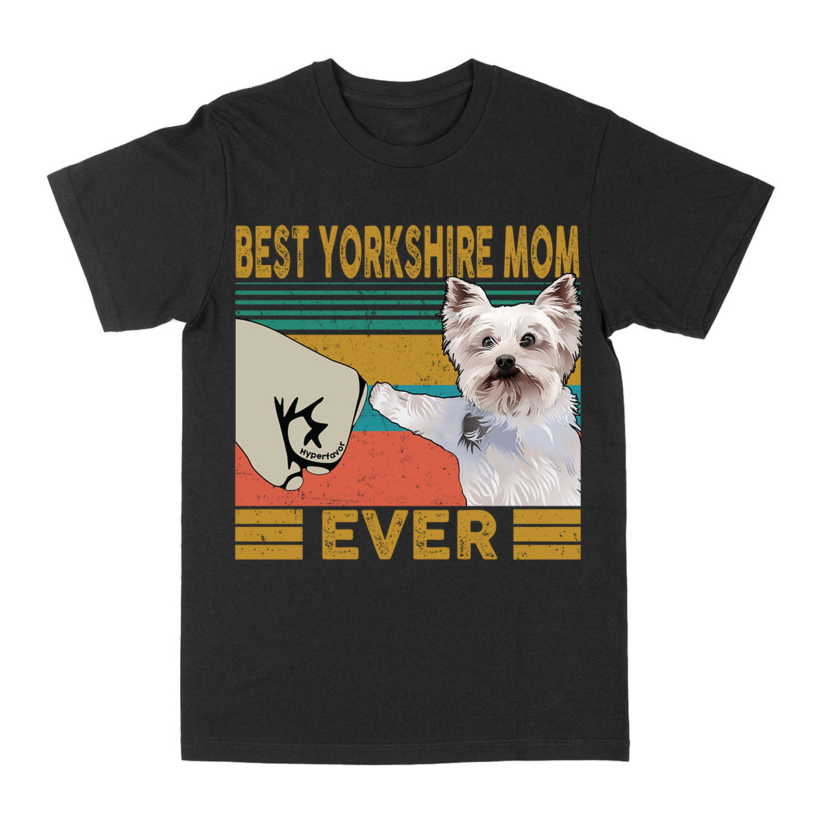 Best Yorkshire Mom Ever Vintage EZ03 2703 Classic T-shirt