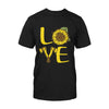 Love Axe Throwing Sunflower EZ06 2608 Classic T-shirt - Hyperfavor