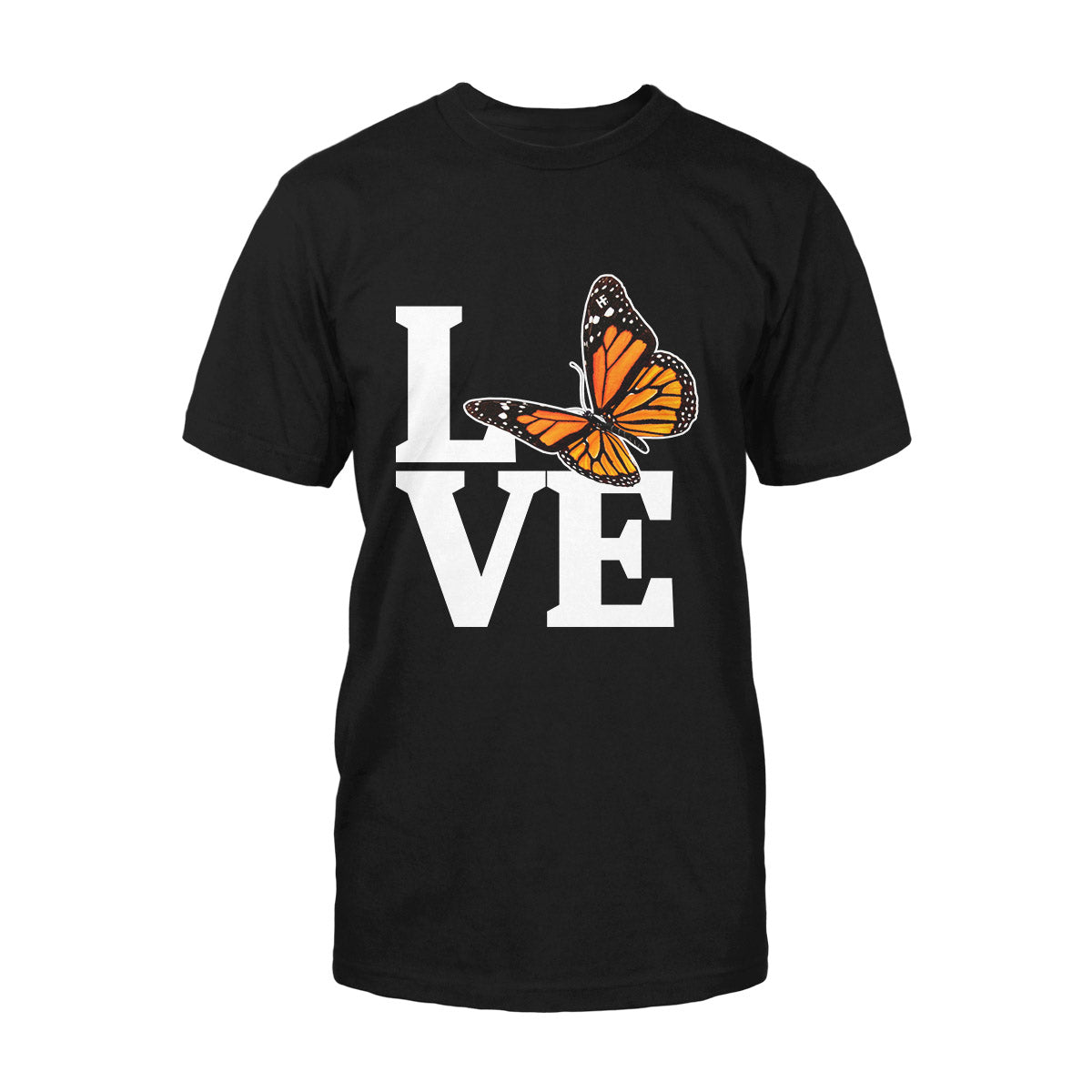 Love Butterfly Monarch Butterfly EZ02 0309 Classic T-shirt - Hyperfavor