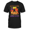 Multiple Sclerosis Messed With The Wrong Witch EZ15 1409 Classic T-shirt - Hyperfavor