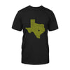 Texas Drawn With One Line EZ12 2708 Classic T-shirt - Hyperfavor