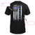 Thin Blue Line Police Name Personalized EZ05 0409 Custom Classic T-shirt