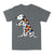 Dalmatian Autism Awareness Peace Love EZ06 0504 Classic T-shirt