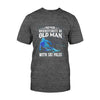 Never Underestimate An Old Man With Ski Poles EZ08 2708 Classic T-shirt - Hyperfavor
