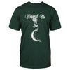 Witch Wicca Blessed Be Rose Moon EZ20 1409 Classic T-shirt - Hyperfavor