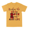 Rockin The Shih Tzu Mom and Aunt Life EZ03 3103 Classic T-shirt - Hyperfavor