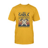 Axe Throwing Some Girls Throw Axe And Drink To Much EZ06 2608 Classic T-shirt - Hyperfavor