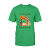 Autumn leaves Pumpkin German Shepherd EZ03 1708 Classic T-shirt - Hyperfavor