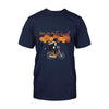 Cycling Cat Ride Like The Wind EZ07 2808 Classic T-shirt - Hyperfavor