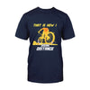 Mountain Bike That Is How I Social Distance EZ07 1908 Classic T-shirt - Hyperfavor
