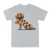 Dachshund Autism Awareness Peace Love EZ06 0504 Classic T-shirt - Hyperfavor