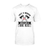 Axe Throwing Just A Woman Who Has A Big Axe EZ06 2108 Classic T-shirt - Hyperfavor