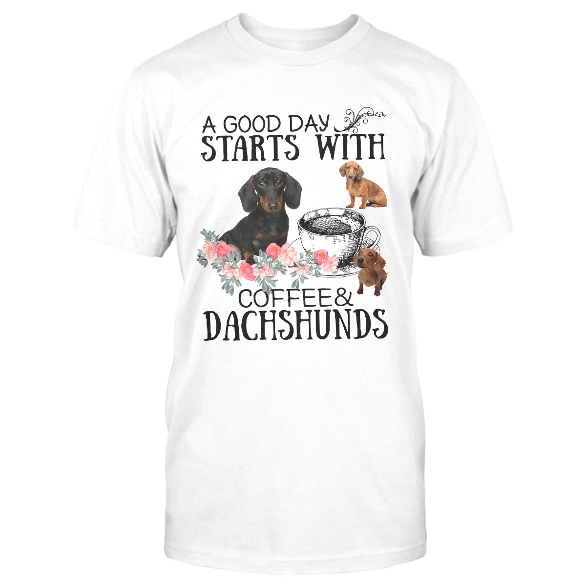 Dachshund Lovers Shirt 12 EZ01 1009 Classic T-shirt