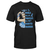 In A World Full Of Princesses Be A Diabetes Warrior EZ16 1310 Classic T-shirt - Hyperfavor