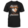 In Our Family No One Fights Multiple Sclerosis Alone EZ12 1809 Classic T-shirt - Hyperfavor
