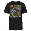 Vintage Music Sheet Piano EZ05 1609 Classic T-shirt - Hyperfavor