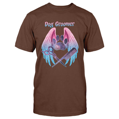 Dogs Groomer Angel Wings EZ24 1210 Classic T-shirt - Hyperfavor