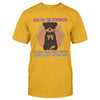 Give Me The Strength To Walk Away Yoga Dogs Rottweilers EZ24 0710 Classic T-shirt - Hyperfavor