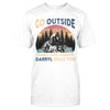 Go Outside And Darryl Kills You Retro Camping EZ12 2209 Classic T-shirt - Hyperfavor