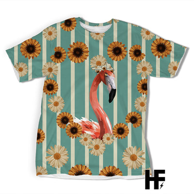 Country Flamingo EZ05 1603 All Over T-shirt - Hyperfavor