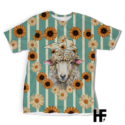 Country Sheep EZ05 1603 All Over T-shirt - Hyperfavor