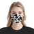Cow Spots Pattern 1 EZ07 2205 Face Mask - Hyperfavor