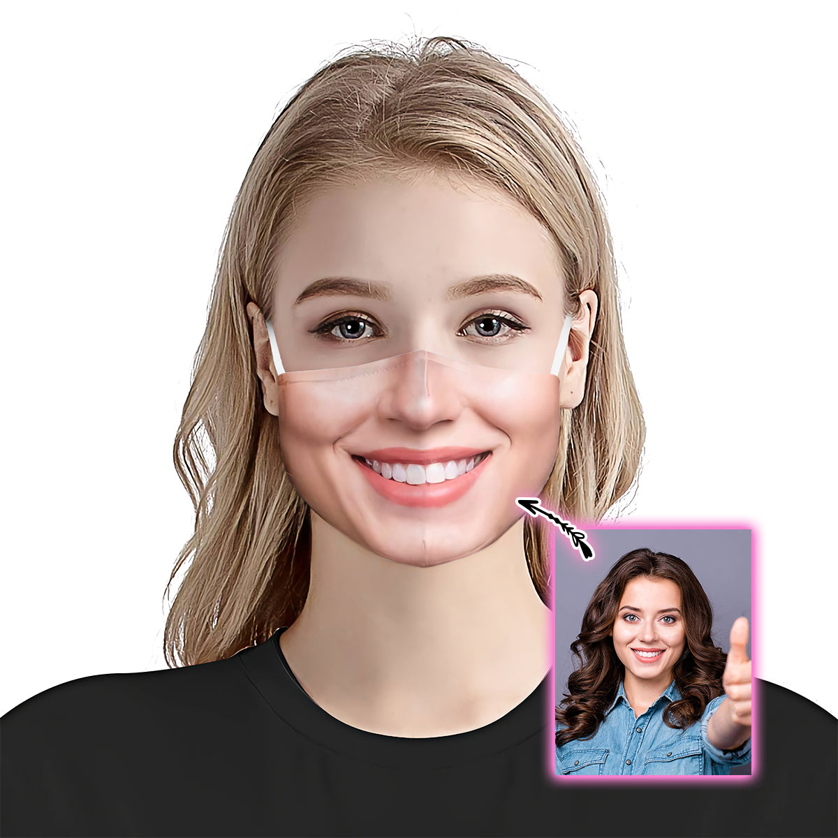 Custom Funny EZ03 1905 Custom Face Mask - Hyperfavor