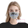 Custom Mrs. Thin Blue Line 2 EZ07 2105 Custom Face Mask - Hyperfavor