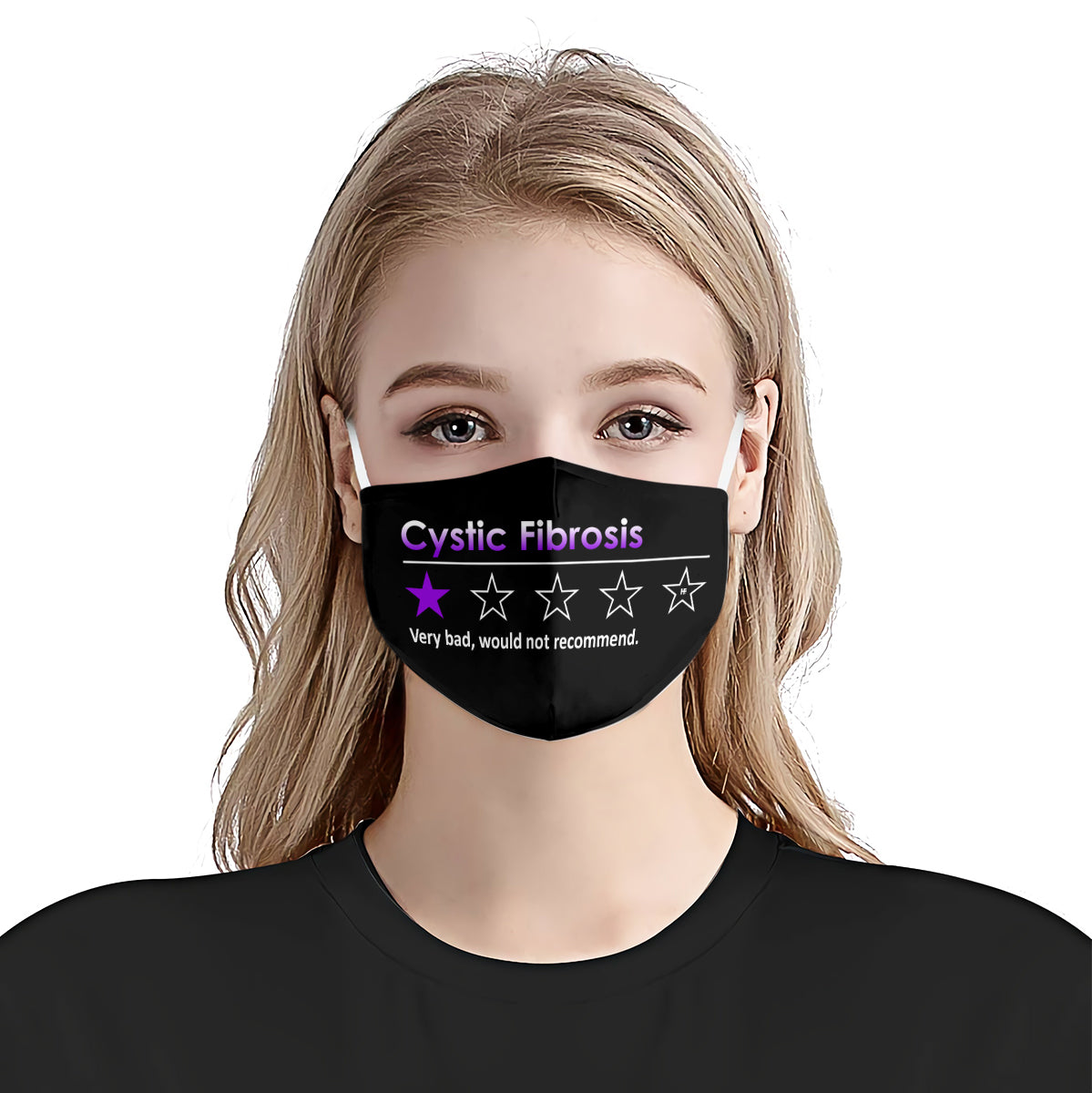Cystic Fibrosis very bad, would not recommend EZ03 3006 Face Mask - Hyperfavor