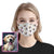Dog and Paw Pattern EZ00 1105 Custom Face Mask - Hyperfavor