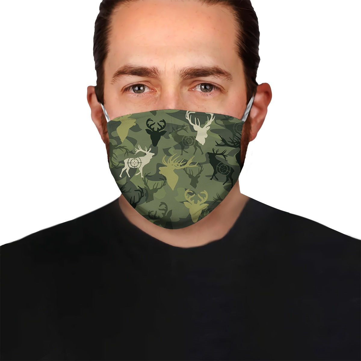 Deer Hunting Camo EZ07 1304 Face Mask - Hyperfavor