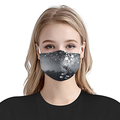 Elephant Catching Stars EZ08 2205 Face Mask - Hyperfavor