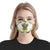 Elephant Sunflower EZ03 1704 Face Mask - Hyperfavor