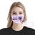 Epilepsy Awareness I Wear EZ10 2005 Custom Face Mask - Hyperfavor