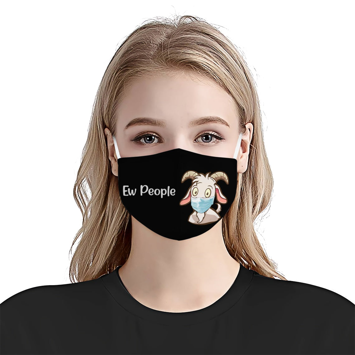 Ew People Goat EZ03 0606 Face Mask - Hyperfavor
