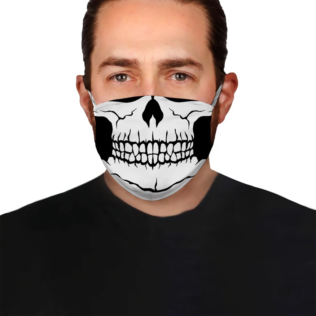 Skull 3 EZ05 1304 Face Mask - Hyperfavor