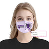 Fibromyalgia Awareness I Wear EZ10 2005 Custom Face Mask - Hyperfavor